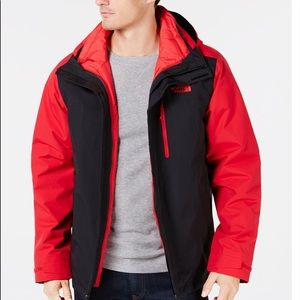 The North Face 2 in 1 Carto Triclimate Jacket Sz:L